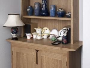 English Oak Cabinets
